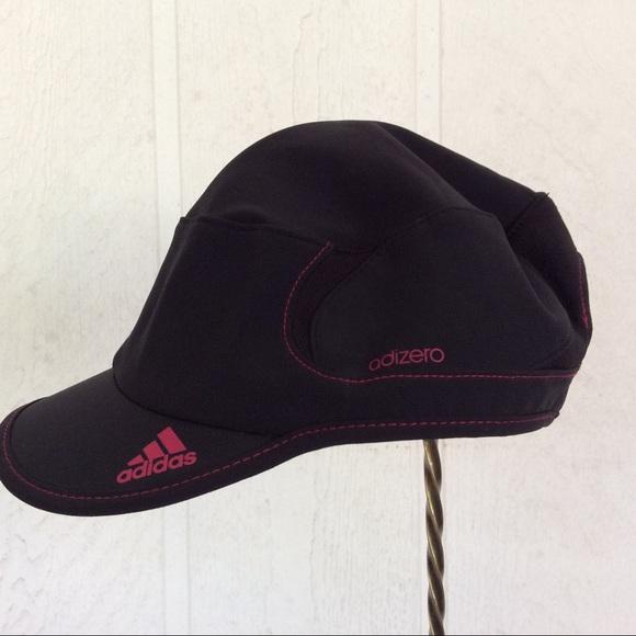 a3c8141242b adidas Accessories - NWOT ADIDAS ADIZERO CLIMACOOL BLACK RUNNING HAT